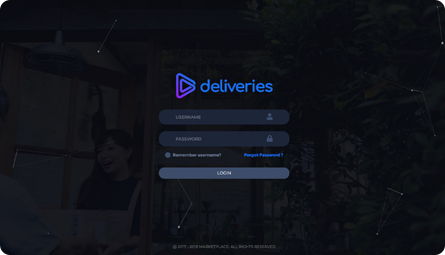 Create your Deliveries.ph account