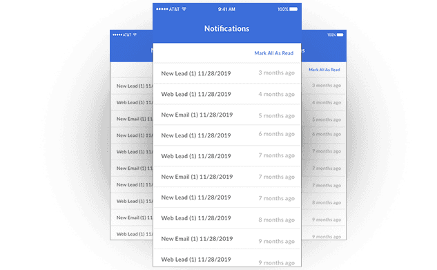 Stay up to date with real-time notifications